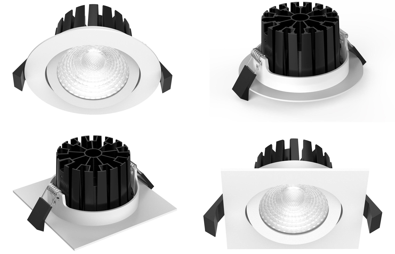 LED Spots wasserdicht und Schwenkbar IP65