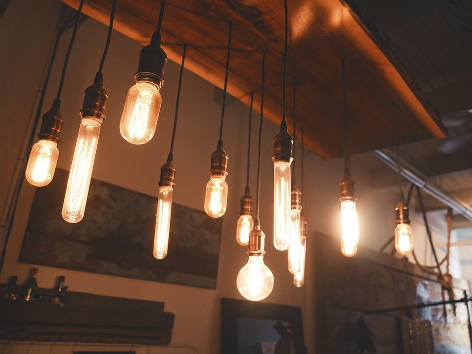 Led Retro Lampe Und Retro Birne