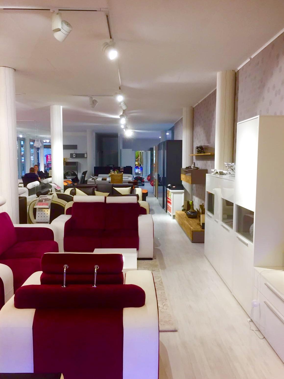 Möbelgeschäft Showroom LED TrackLight