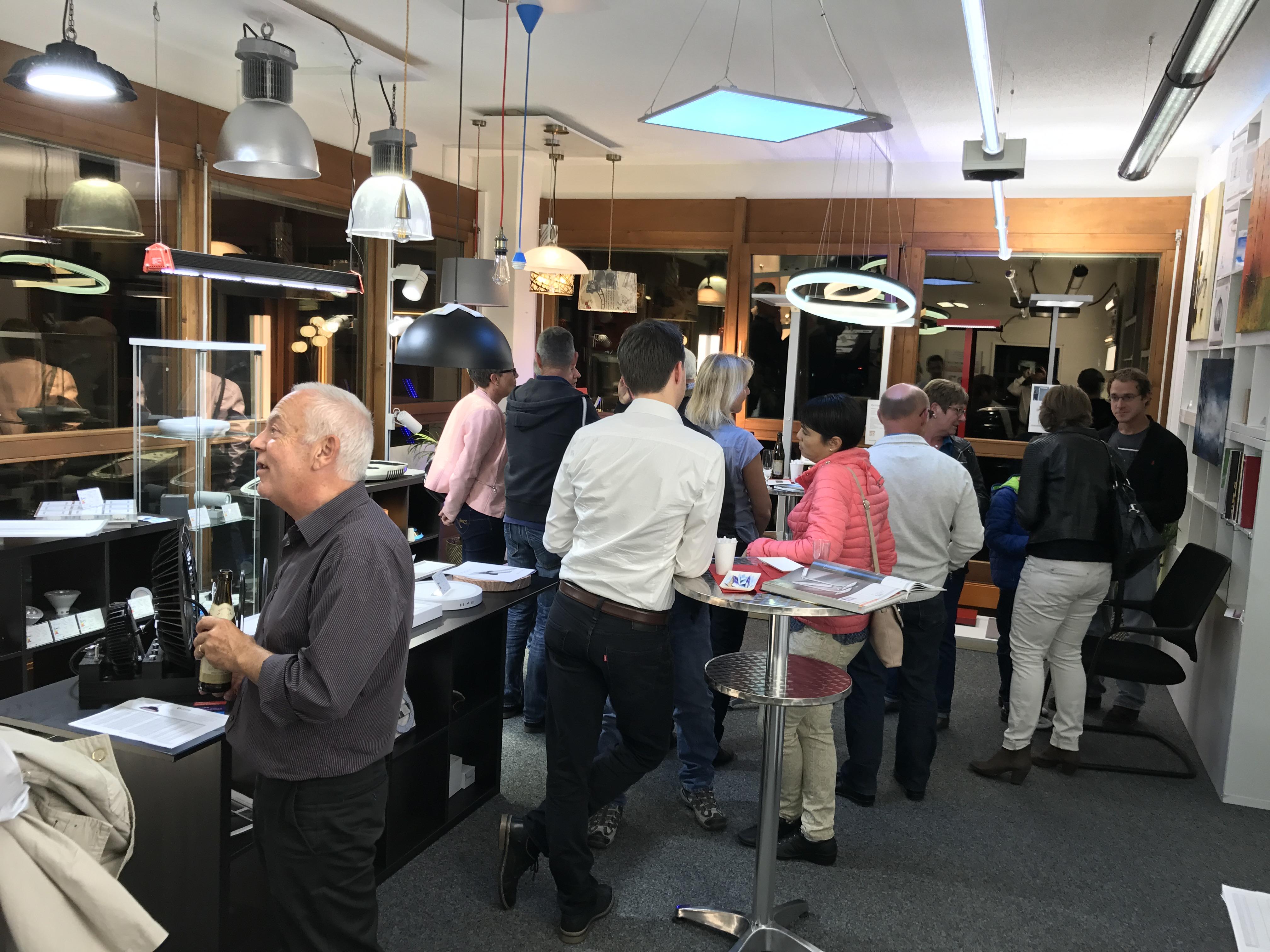 Ausstellung Licht Cham