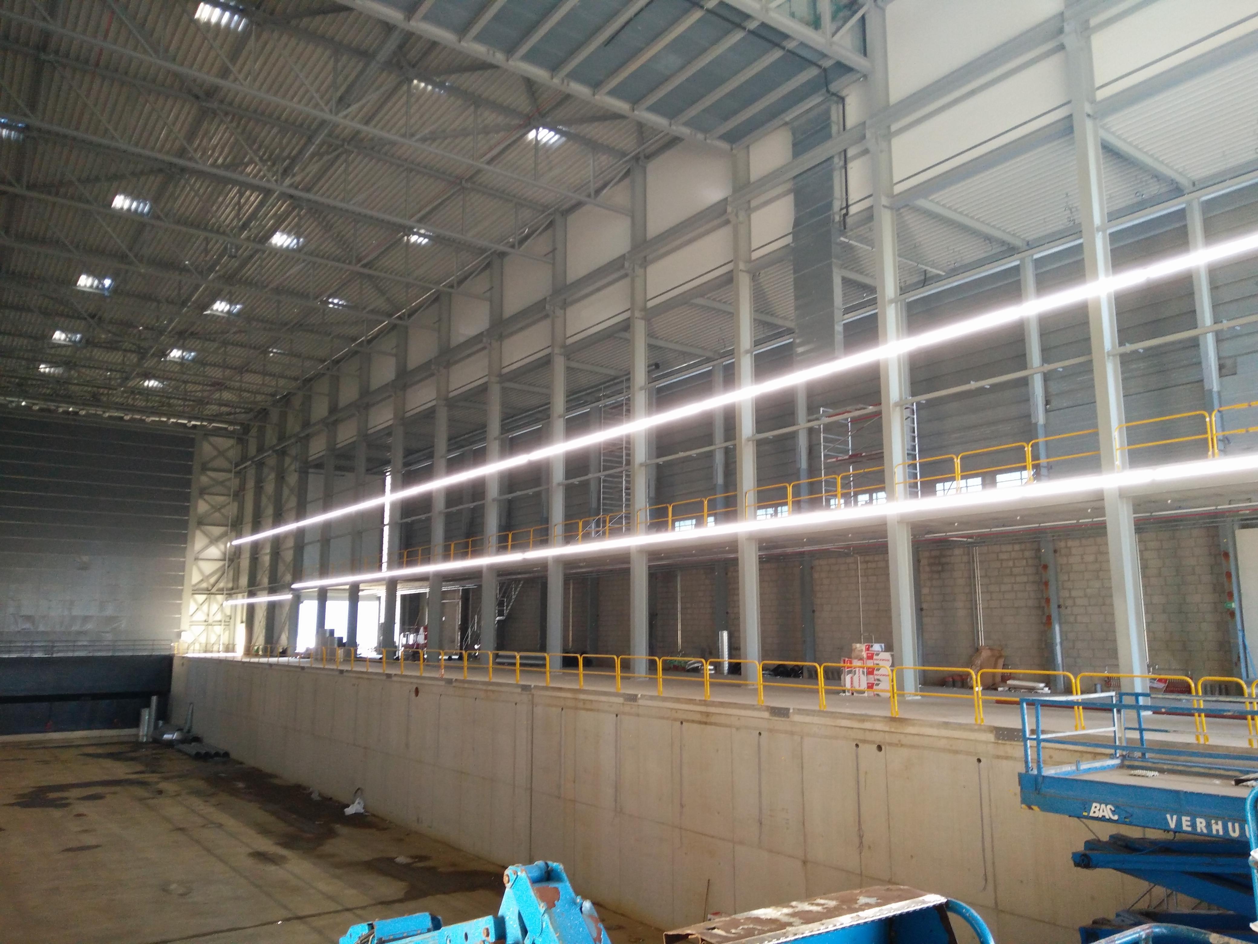 Linienbeleuchtung Werft