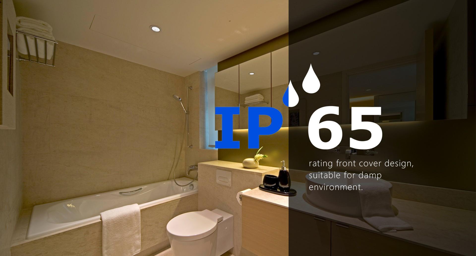 Wasserdichte Spots fürs Badezimmer, Draussen oder auch Industrie
