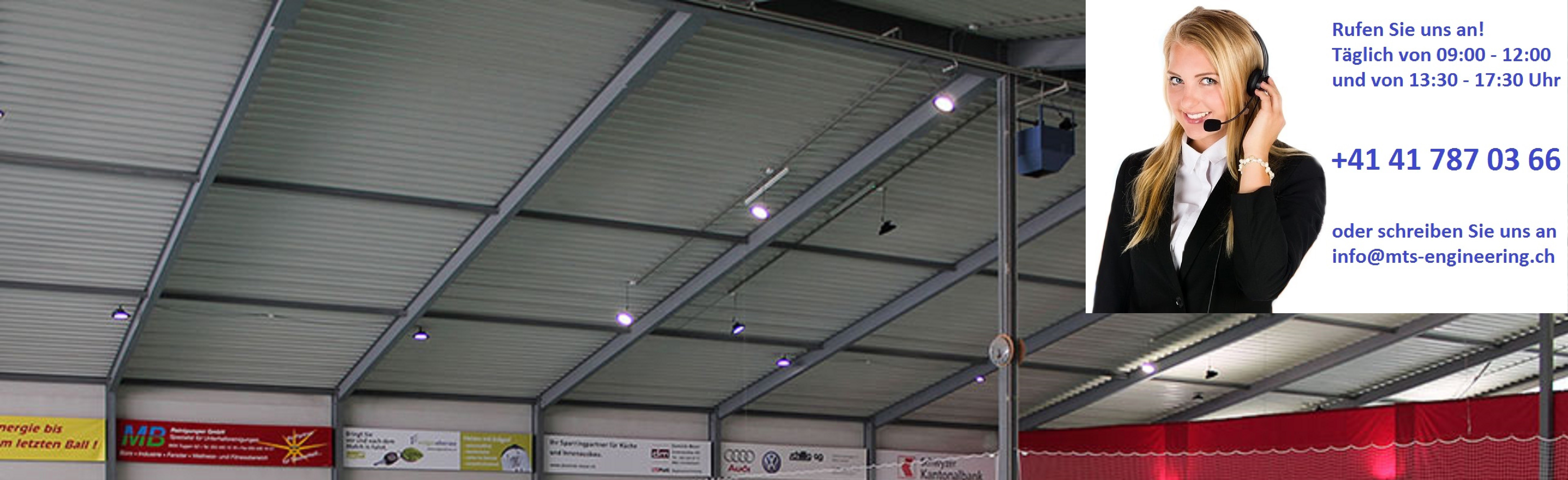LED Sporthallenbeleuchtung